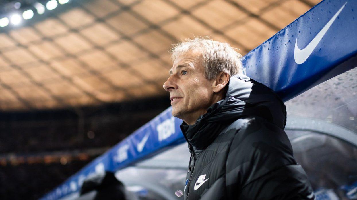 Юрген Клинсманн больше не будет тренировать «Герту»