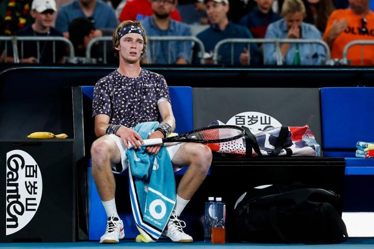 Результаты Australian Open 2020. Рублёв в трёх сетах уступил Звереву. Россиян не осталось
