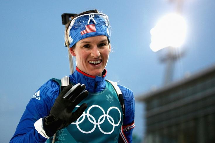 Американская биатлонистка Игэн поздравила российских легкоатлетов с закрытием федерации