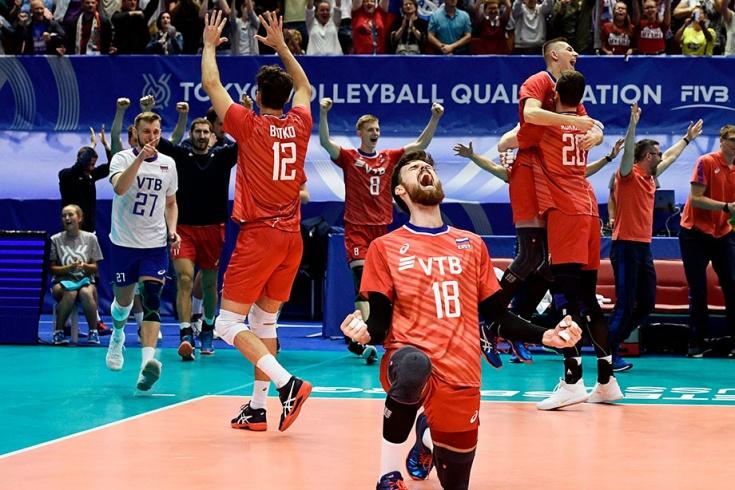 Россия обыграла Иран и завоевала путёвку на Олимпиаду-2020