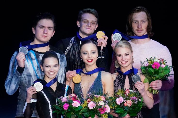 Триумф российских пар на чемпионате Европы по фигурному катанию 2020