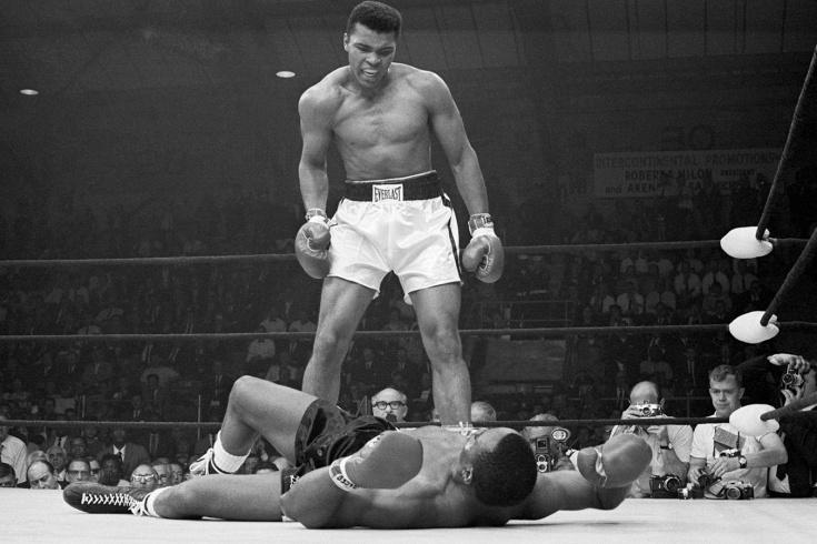 55 лет легендарному нокауту Мохаммеда Али в бою с Сонни Листоном