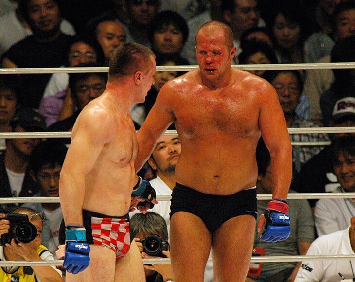 Конор, Федор Емельяненко, Джонс и другие: 10 лучших боев в истории MMA