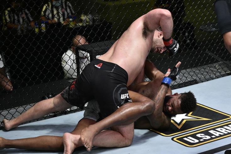 Морис Грин на UFC Vegas 4 задушил Джиана Вилланте, видео боя, подробности турнира