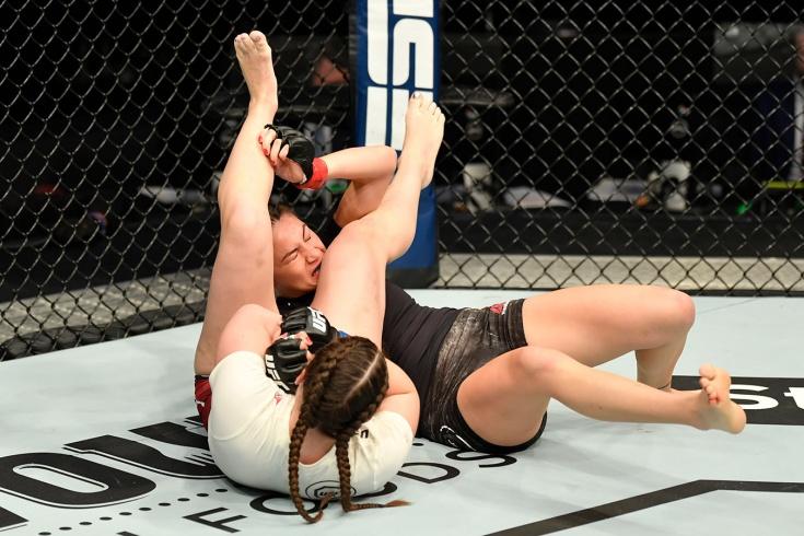 Лиана Джоджуа одержала первую победу в UFC, фоторепортаж