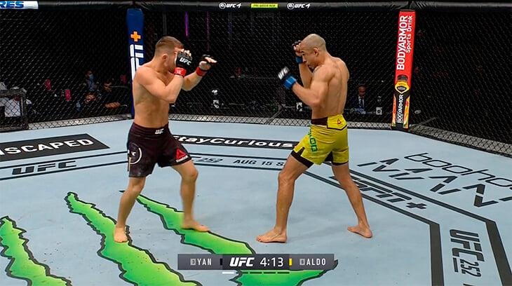 Петр Ян – чемпион почти без слабых мест. У него мощная техника бокса, выносливость и удары-удары (сегодня – рекордные 194!)