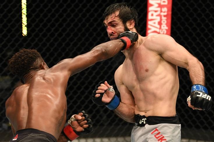 Хаким Даводу — Зубайра Тухугов: обзор боя UFC 253, победа Даводу решением судей, видео