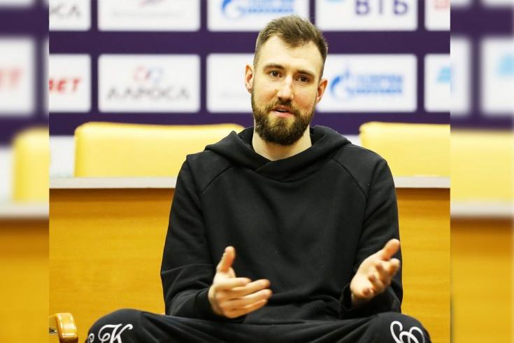 Форвард «Химок» Сергей Карасёв – о старте сезона Единой лиги ВТБ, НБА и не только