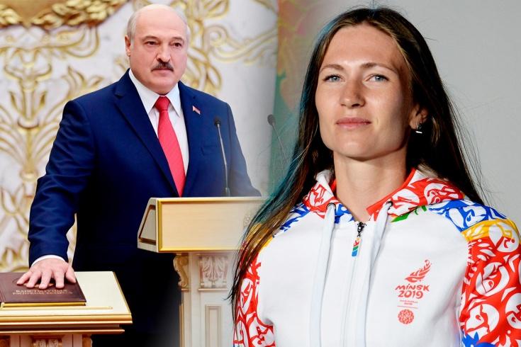 Биатлонистку Дарью Домрачеву требуют лишить звания героя Беларуси из-за Лукашенко
