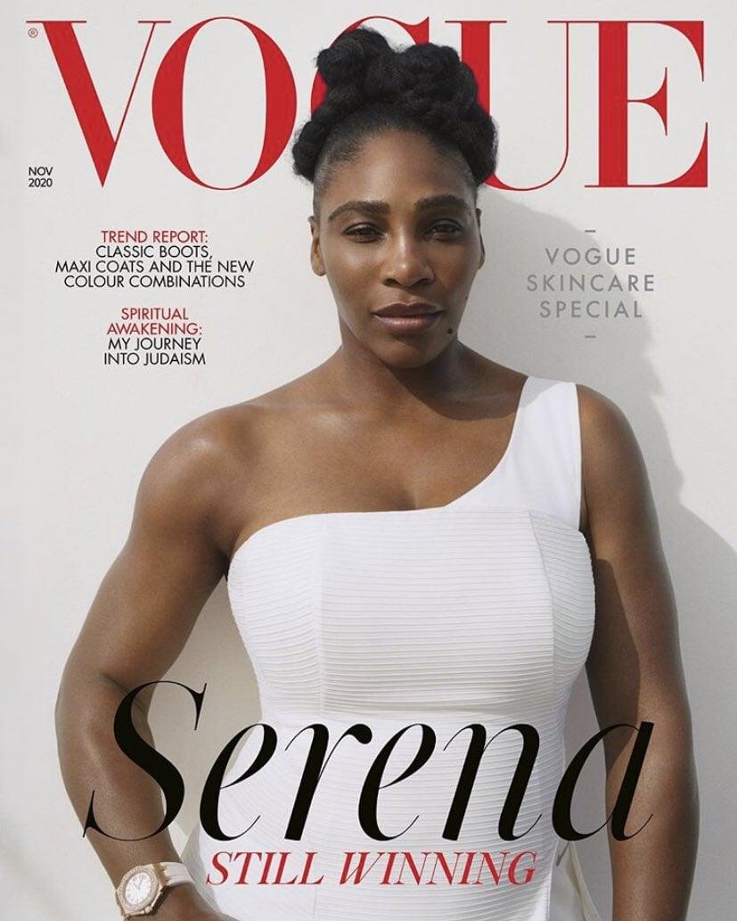 Британский Vogue за 3 месяца поставил на обложку Рэшфорда и Серену. Его редактор – офицер Британской империи и революционер