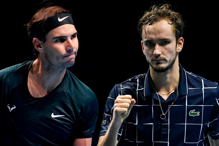 Итоговый чемпионат ATP. Надаль вырвал путёвку в полуфинал у Циципаса и сыграет с Медведевым