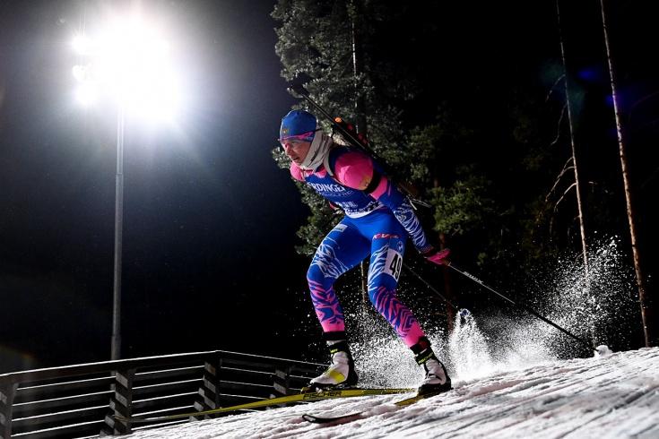 Российские биатлонистки стали четвёртыми в эстафете в Контиолахти – провал Мироновой