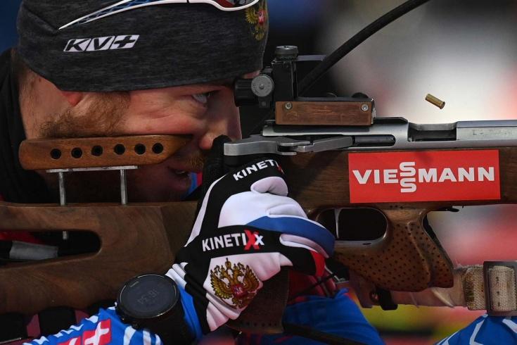 Мужская сборная России по биатлону провалилась в спринте – ни одного спортсмена в топ-30