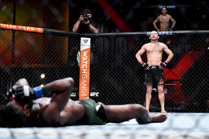 UFC 259: Пётр Ян нокаутировал Алджэмейна Стерлинга, получил дисквалификацию и лишился пояса