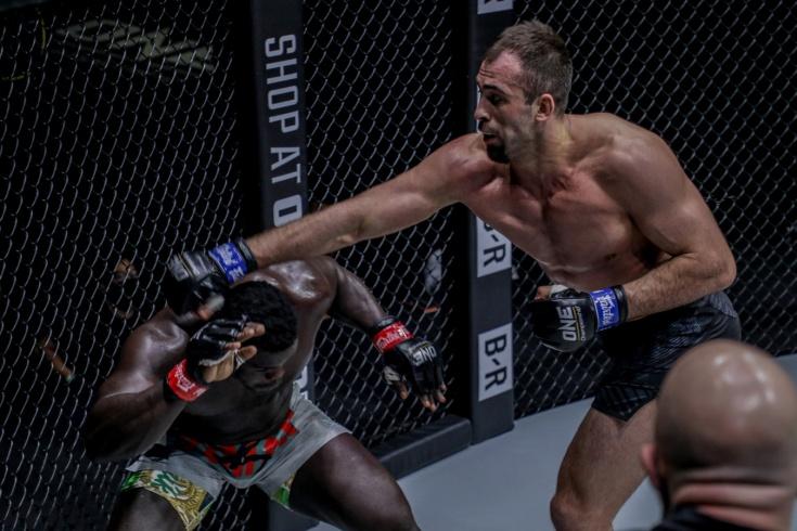 Кирилл Грищенко – Умар Кейн, победа нокаутом на ONE on TNT 4, видео